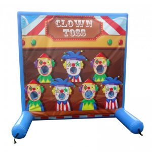 Air Frame Game Clown Toss