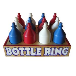 Wooden Bottle Ring Carnival Game