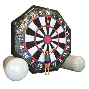 Bullz Eye Inflatable Soccer Darts