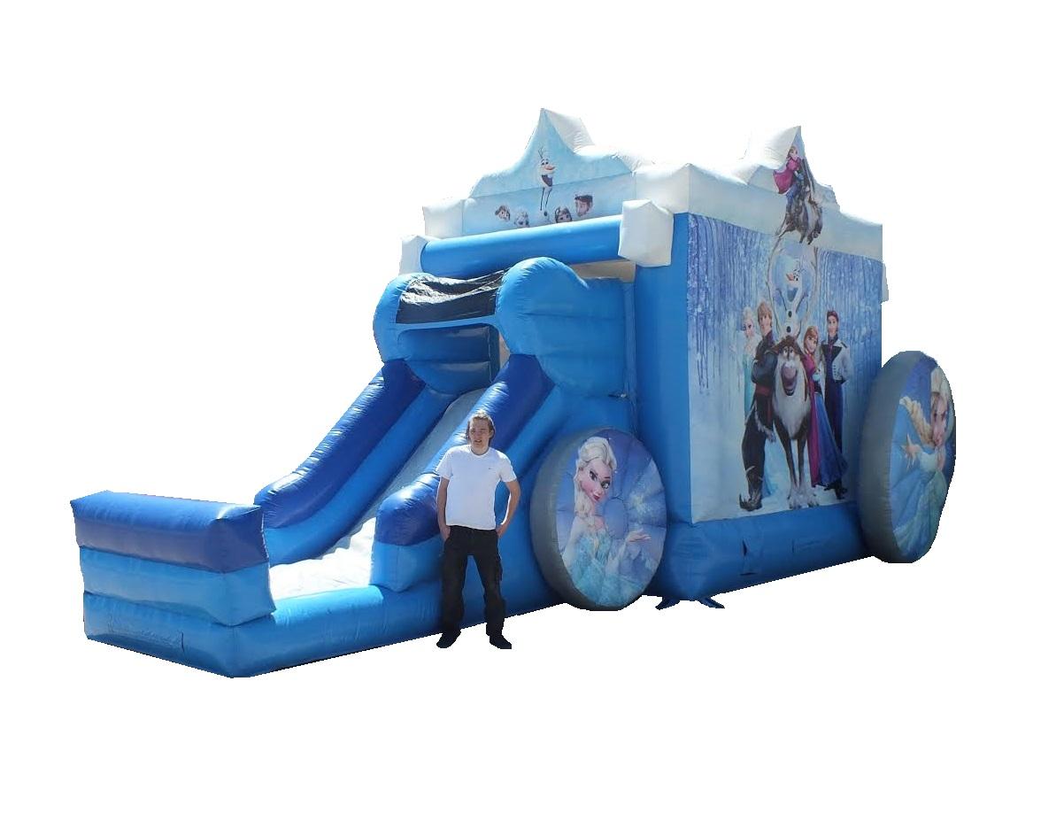 Frozen Carriage Bounce & Slide