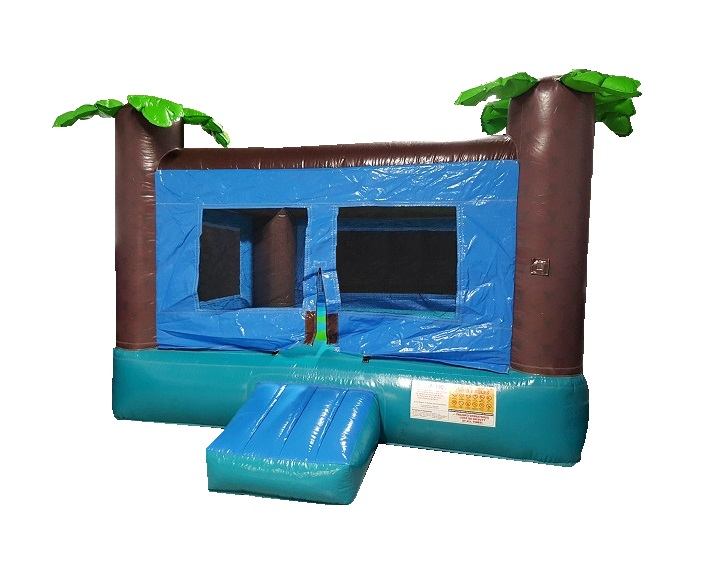 Palm Tree Bounce Castle