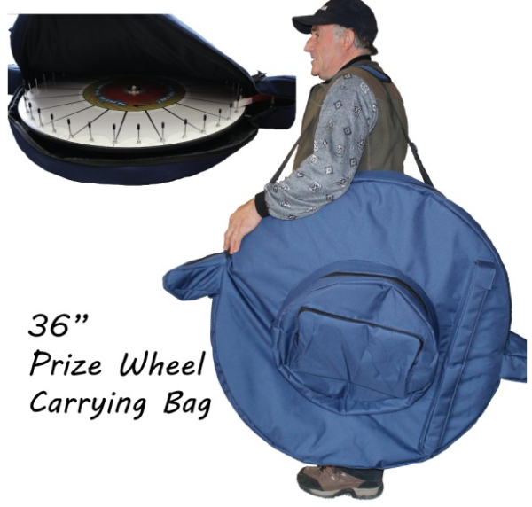 Prize Wheel with Sleeve Pockets