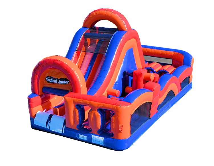 Radical 180° Inflatable Obstacle Course