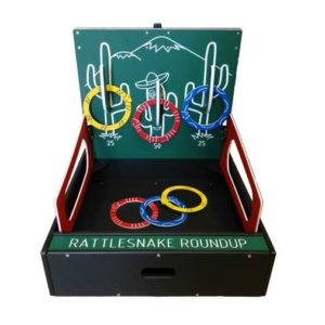 Table Top Carnival Rattlesnake Toss