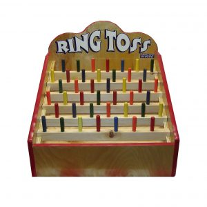 Wooden Ring Toss Carnival Game