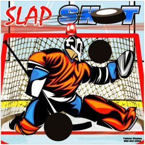 Freestanding Slap Shot Hockey