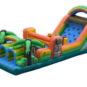 Tiki Trek Inflatable Obstacle Course