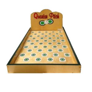 Wooden Token Toss Carnival Game
