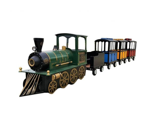 Trackless Train -- Battery Powered