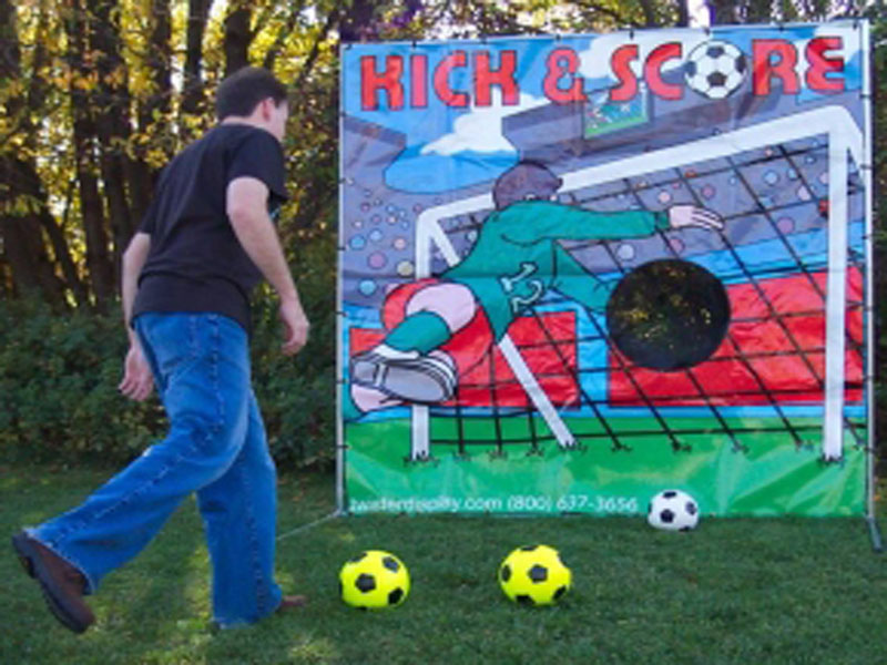 Freestanding Soccer Game