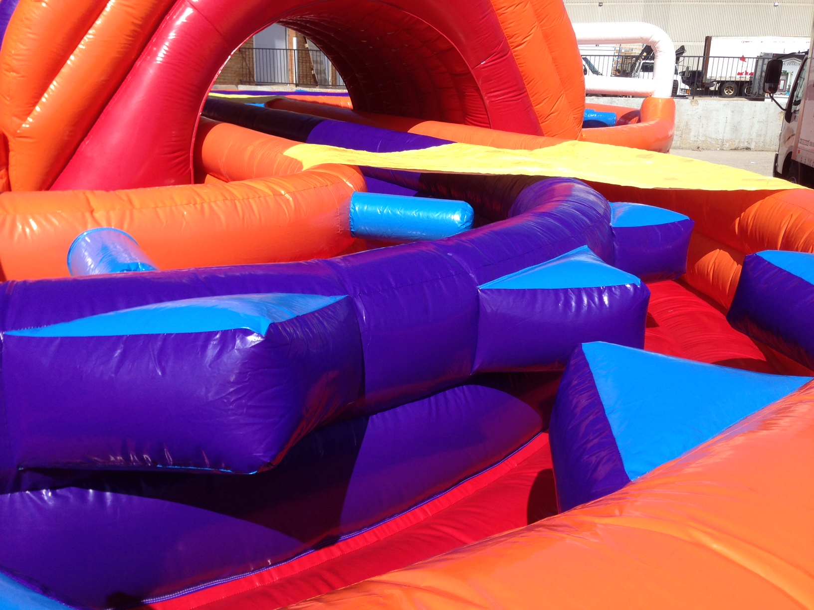 Rat Race Inflatable Obstacle Course