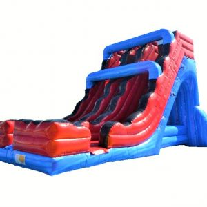 Velocity Double Lane Inflatable Slide