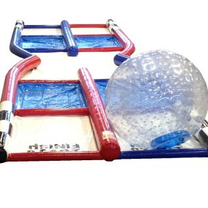 Zorb Ball -- Racing Track Included