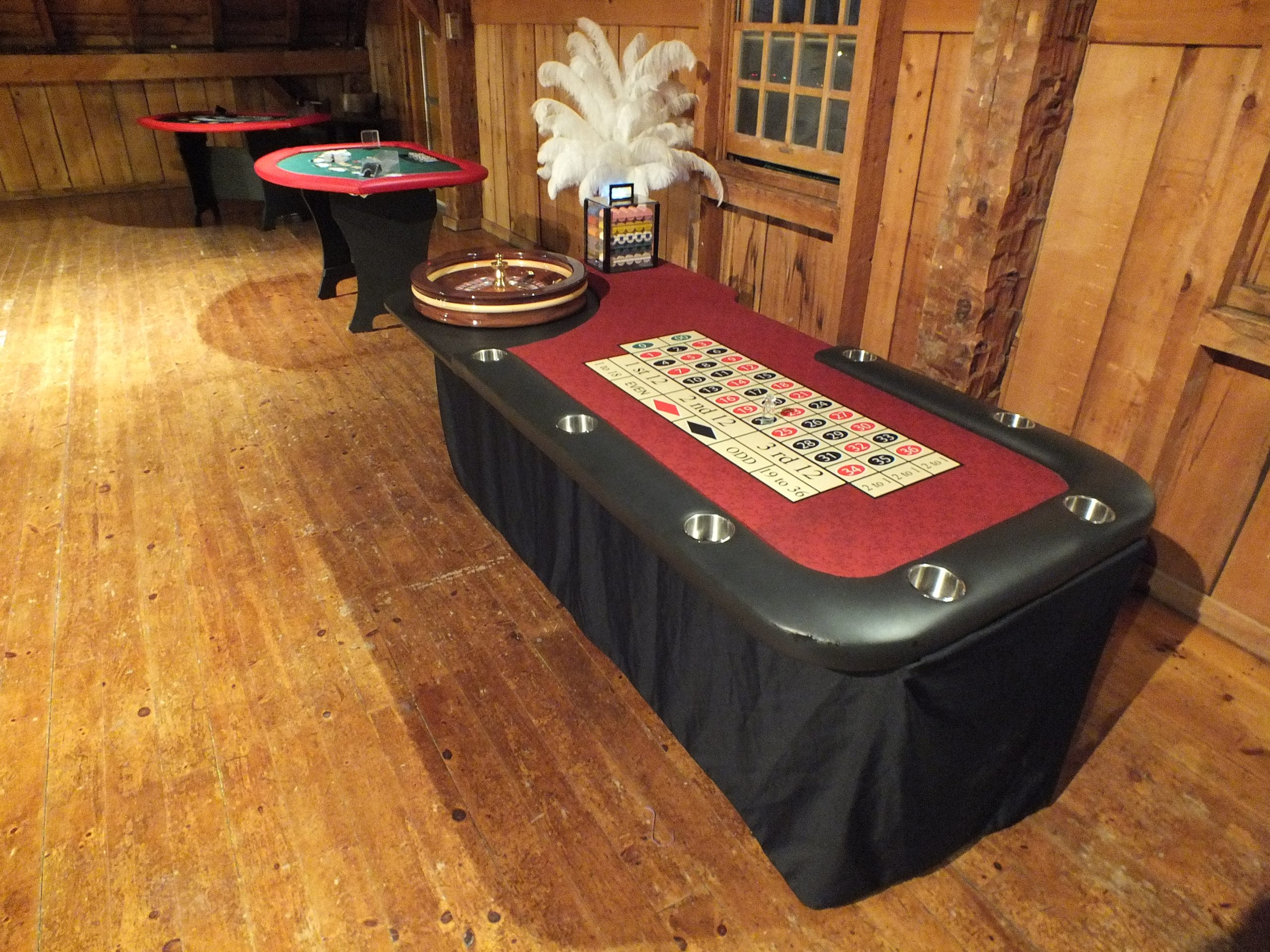Roulette Professional Grade Table Rentals Mississauga