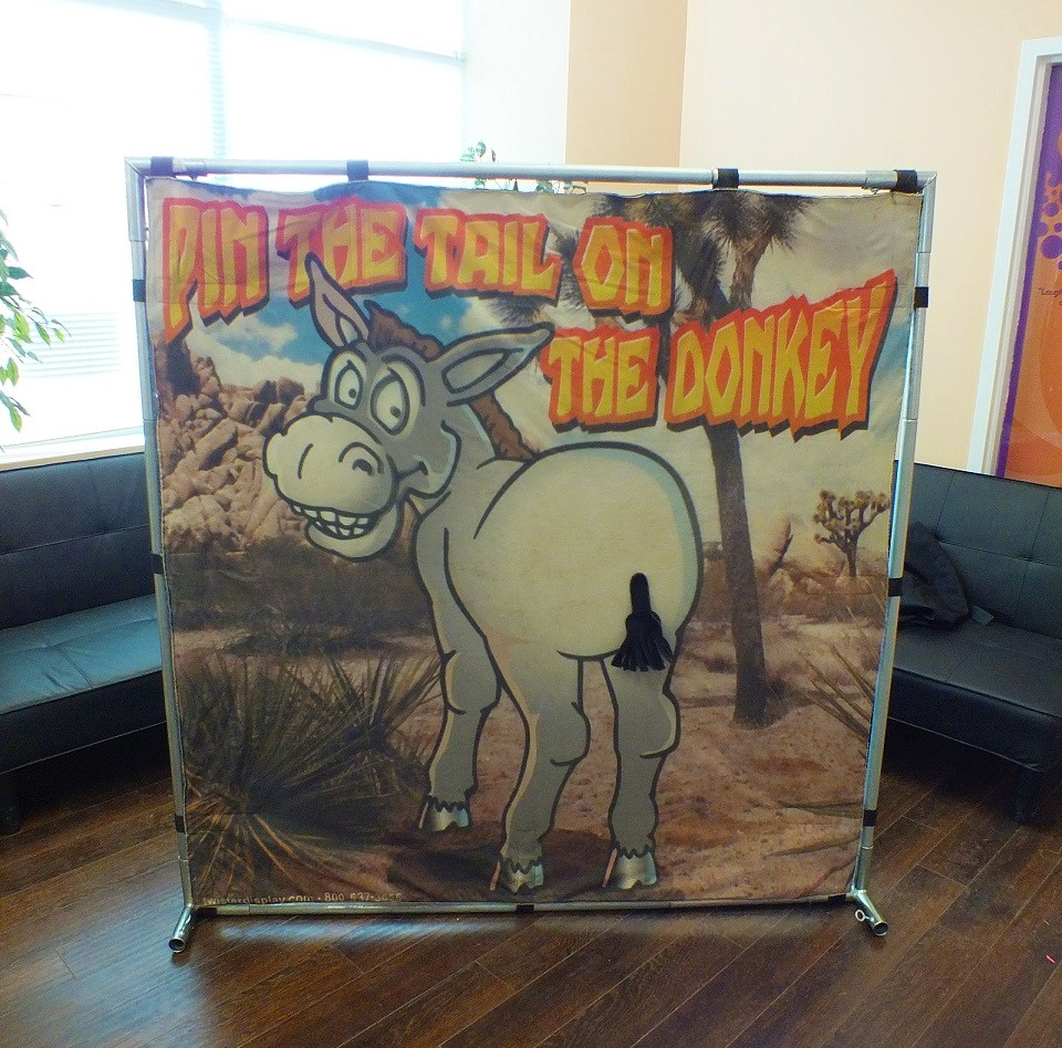 Pin the Tail on the Donkey Rental Day Care