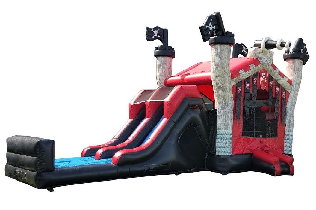 Pirate Combo Bounce and Slide Rental