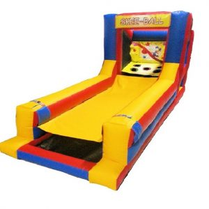 Inflatable Skeeball for rent in Toronto Mississauga