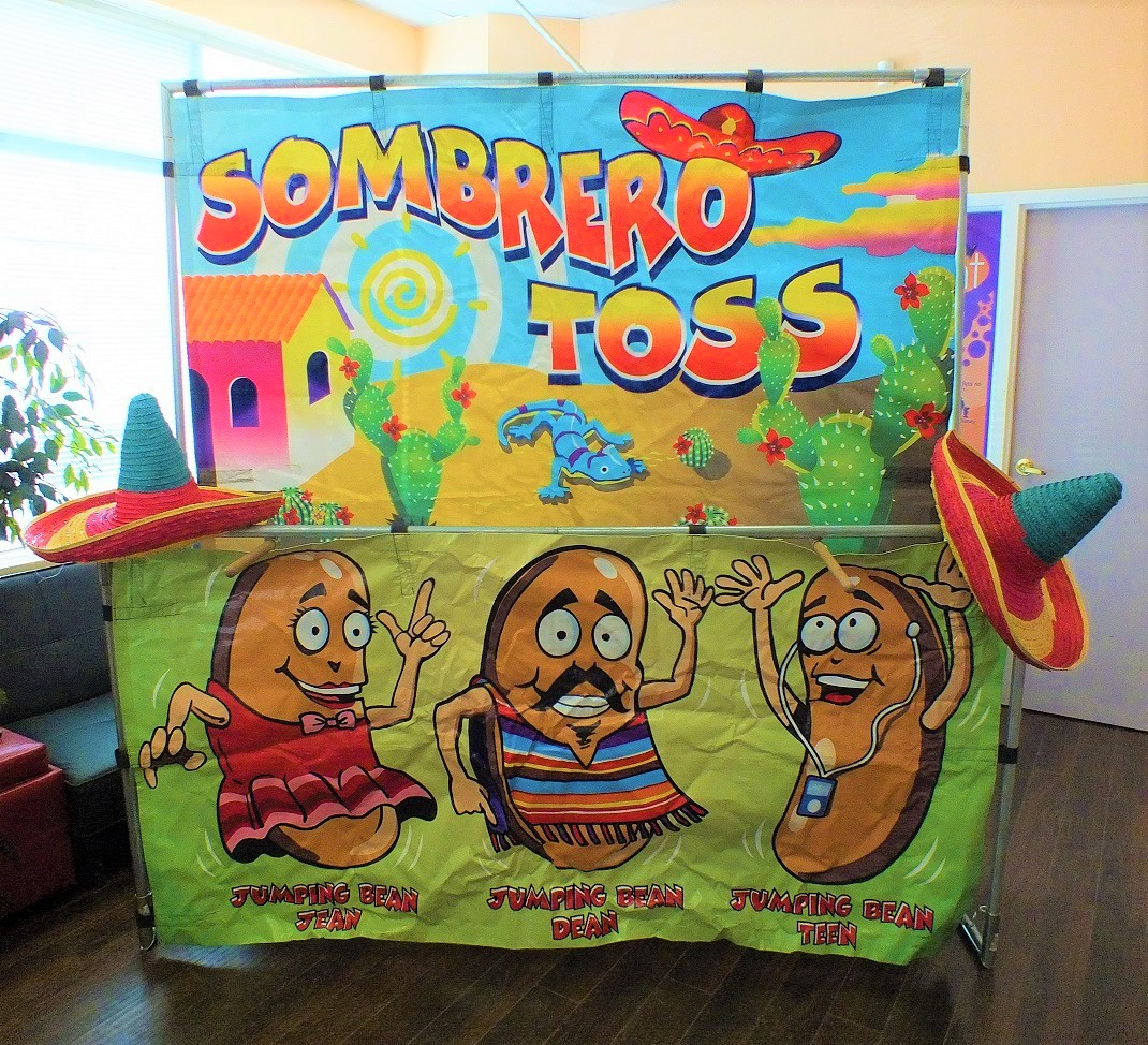 Sombrero Toss Game Rental