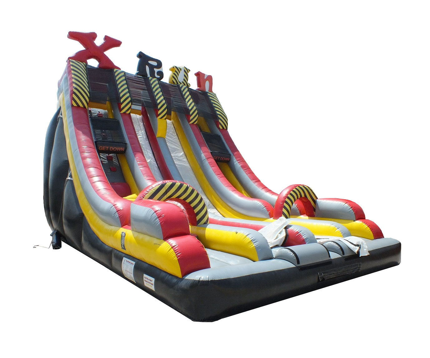 X Run Inflatable Obstacle Course Slide Rental Inflatable