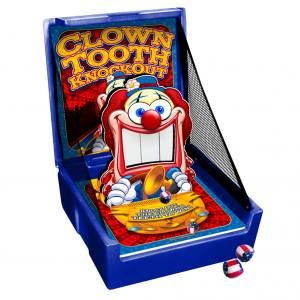 Clown Tooth Knockout Carnival Game Rental Mississauga