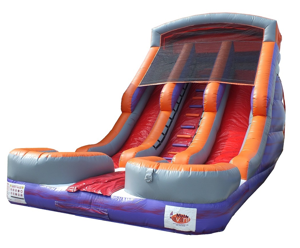 19ft Double Lane Inflatable Slide