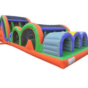 Triple Lane Obstacle Inflatable Course rent Mississauga Toronto