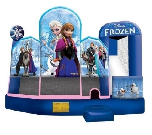 Frozen 5-in-1 Combo Bounce 'N' Slide