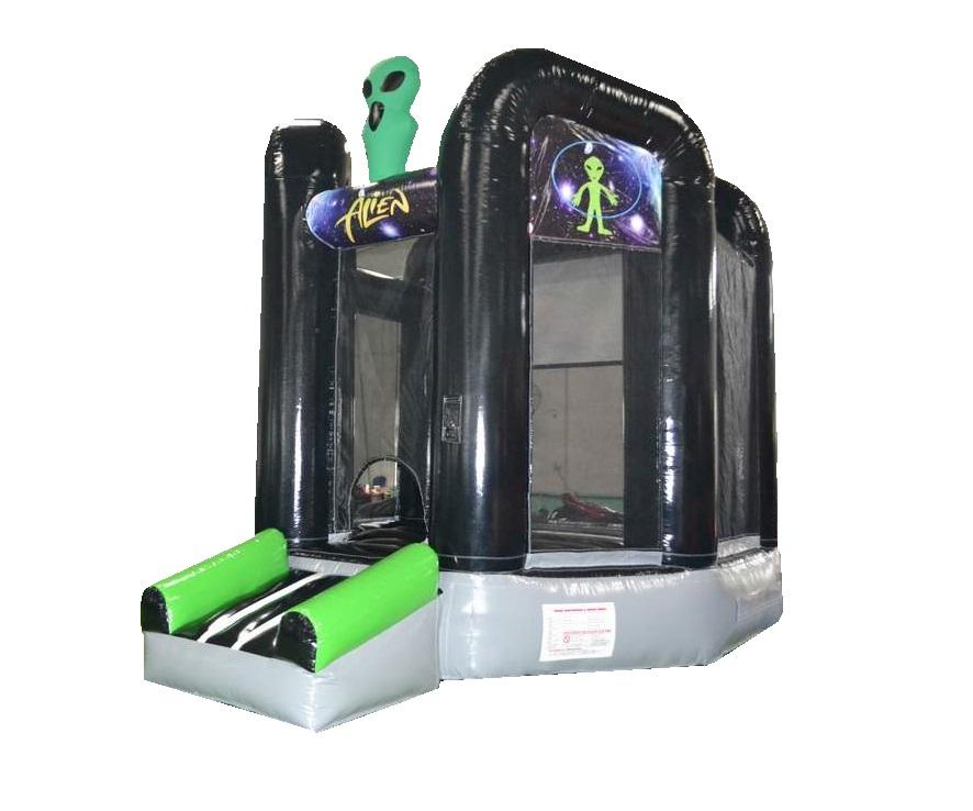 Alien theme bouncy Castle House Rental