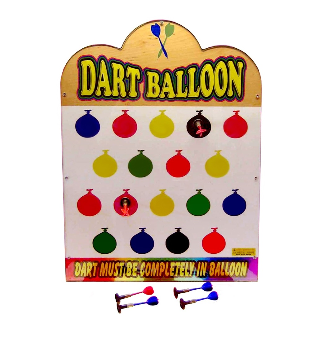 Wooden Sticky Balloon Darts