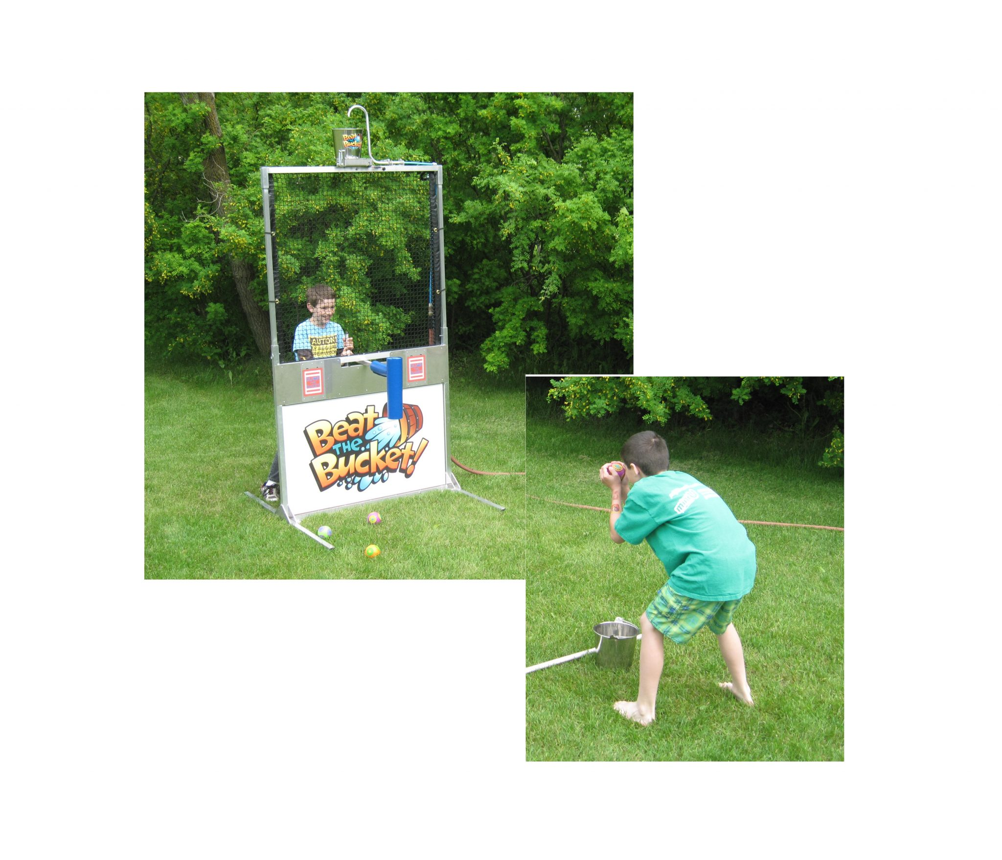 Beat the Bucket Reverse Dunk Tank Drop Rental