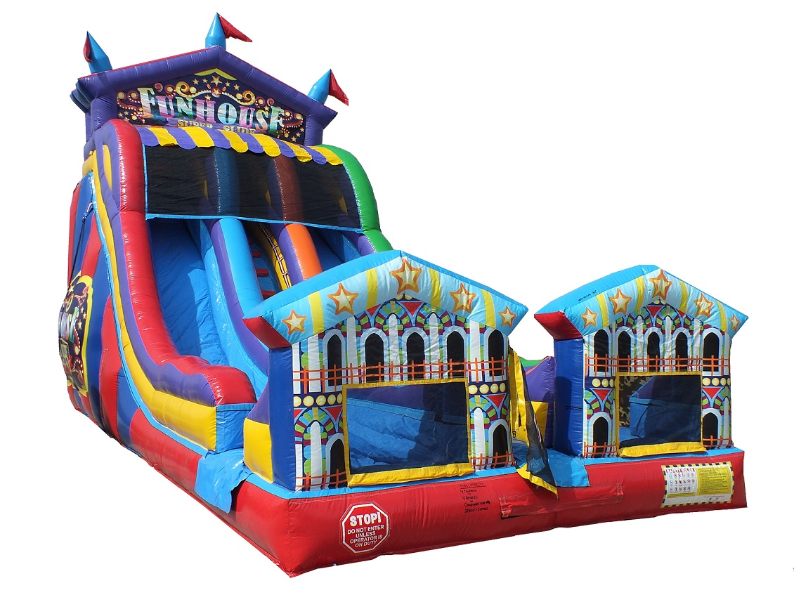 Big Top Carnival Inflatable Slide