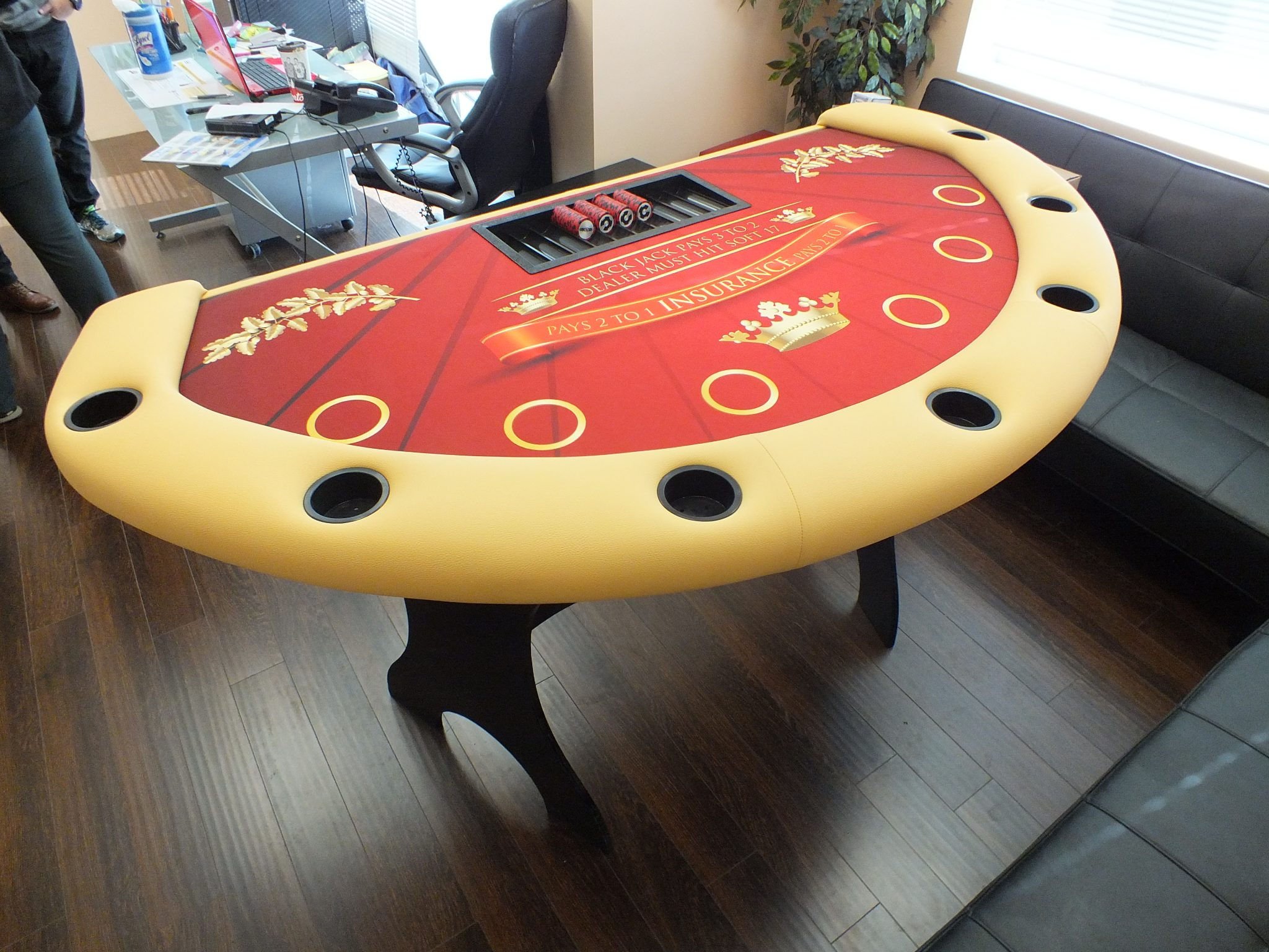 Black Jack Table: Caesar Series