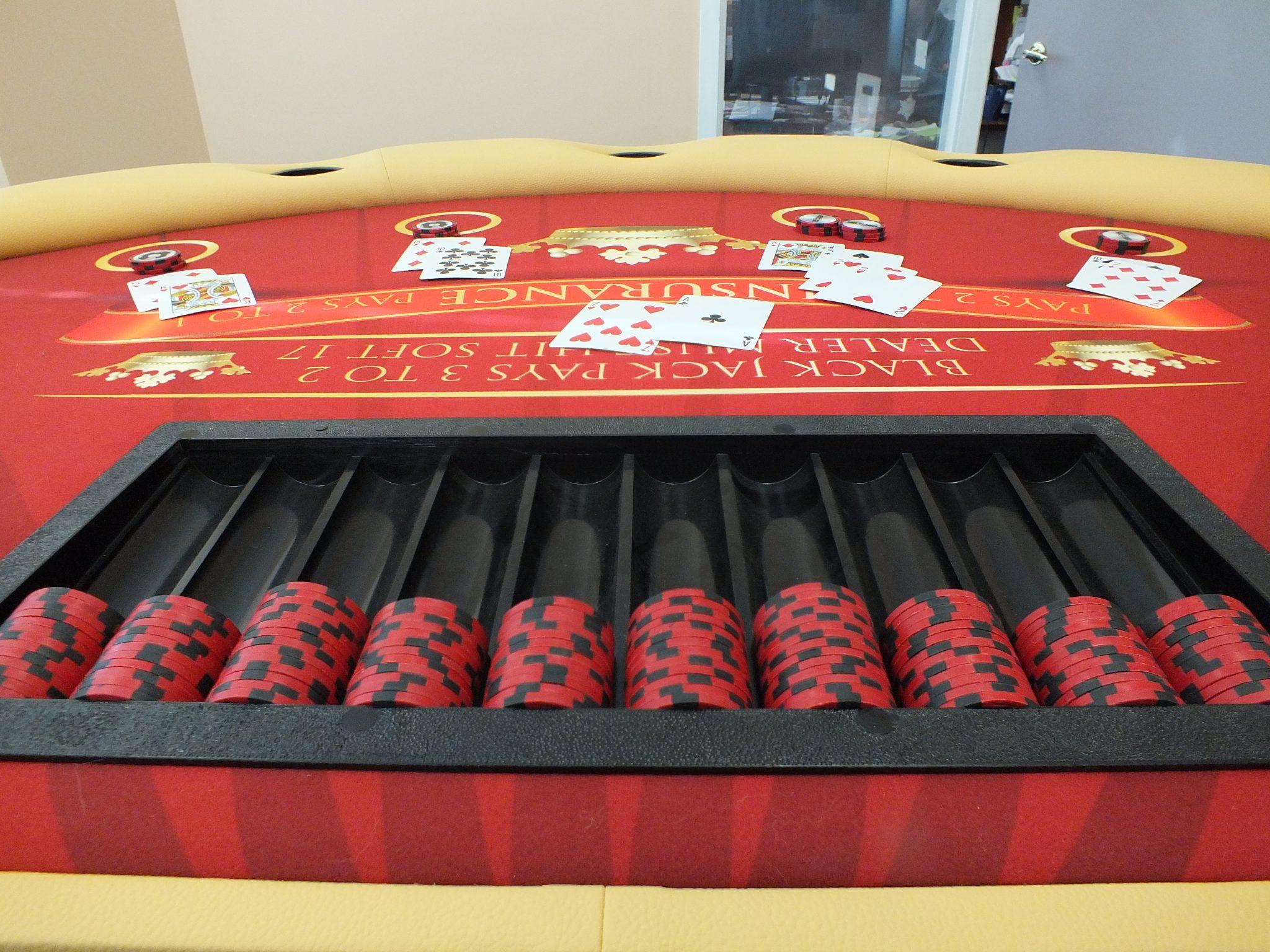 Black Jack Table: Caesar Series