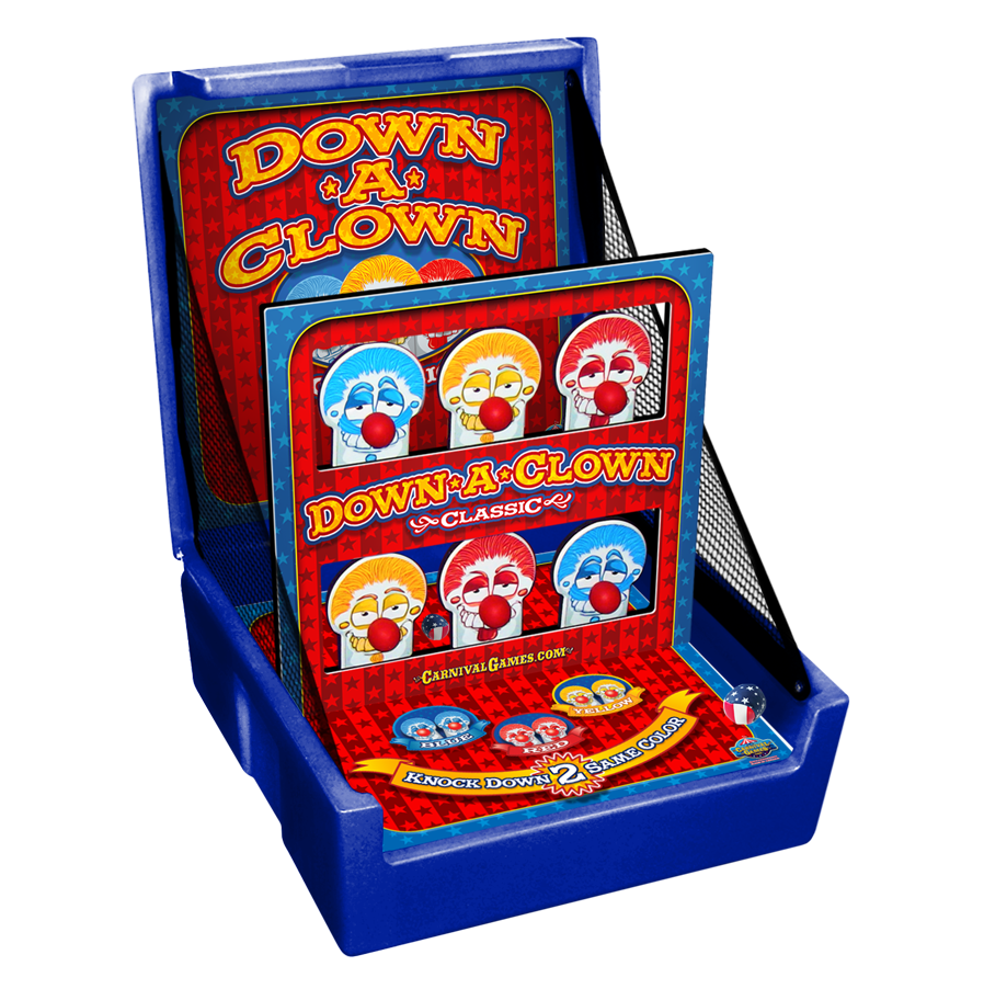 Carnival Case Game: Down-A-Clown