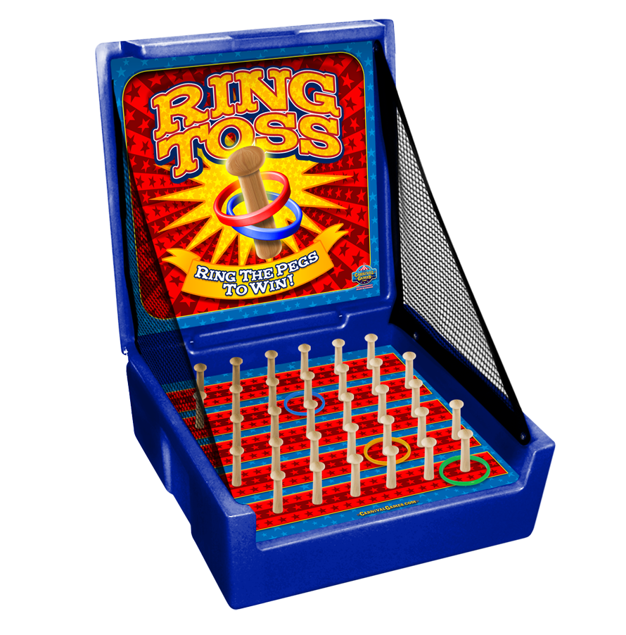 Carnival Case Game: Ring Toss