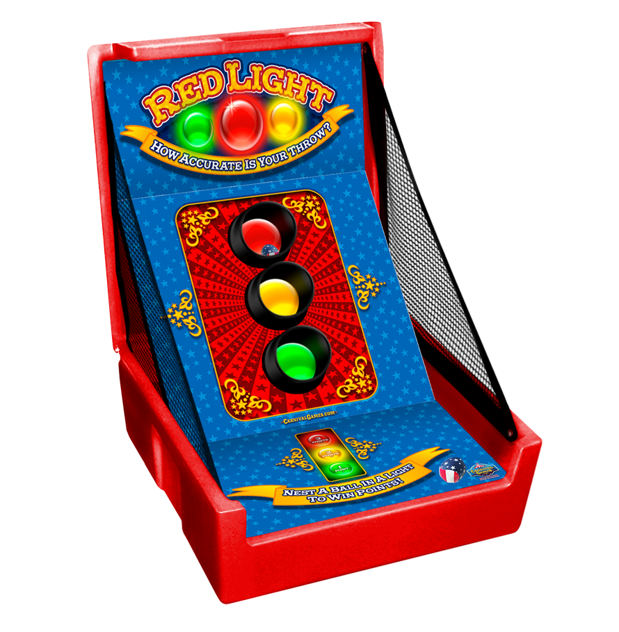 Carnival Case Game: Red Light Toss