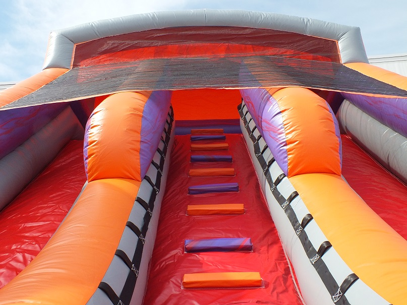 18ft Double Lane Inflatable Slide