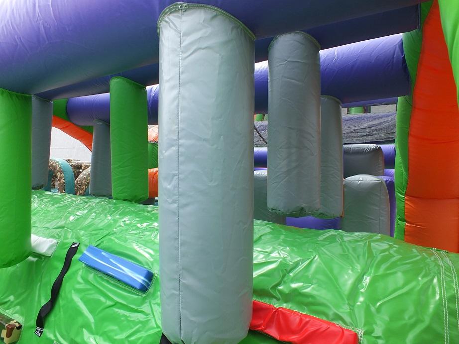 Triple Lane Obstacle Course