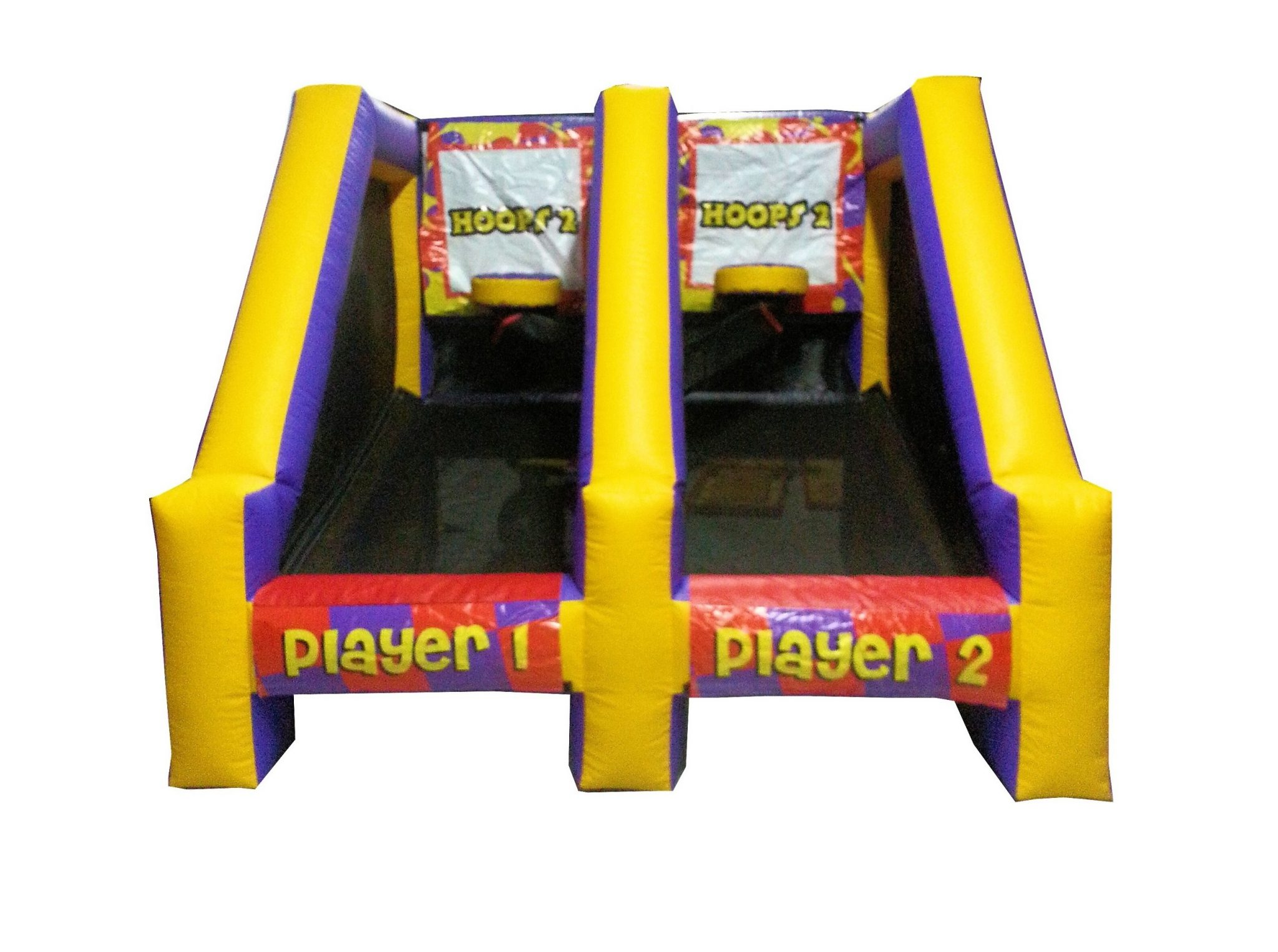 Double Shot Basketball Inflatable Skill Game