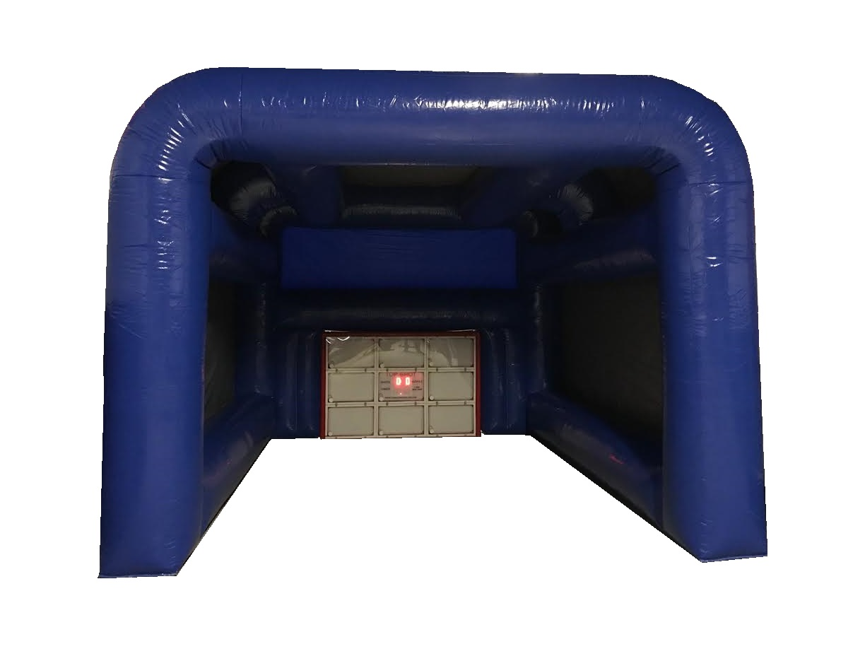 Top Shot Electronic Light Hockey Inflatable and Game Rental