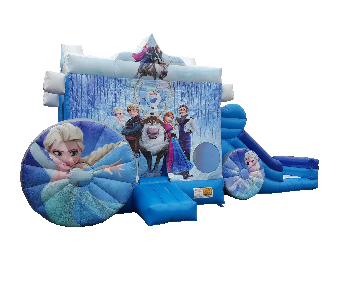 Frozen Carriage Bounce & Slide