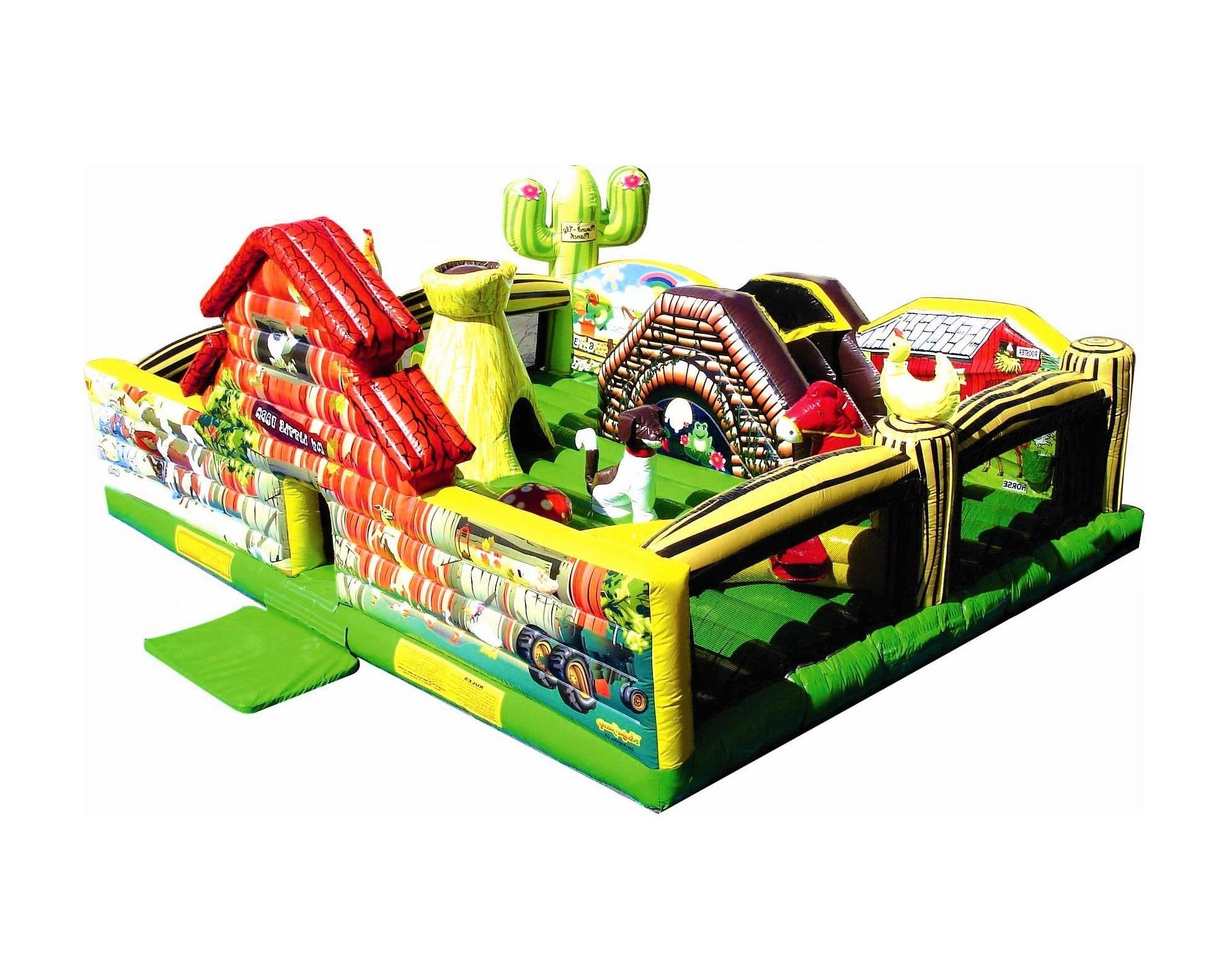 Farm Land Toddler Inflatable Bouncy Castle
