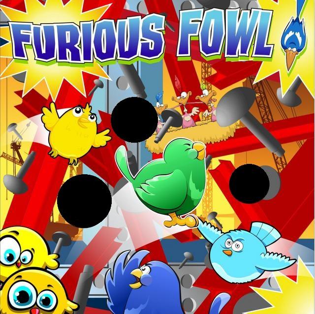 Freestanding Furious Fowl
