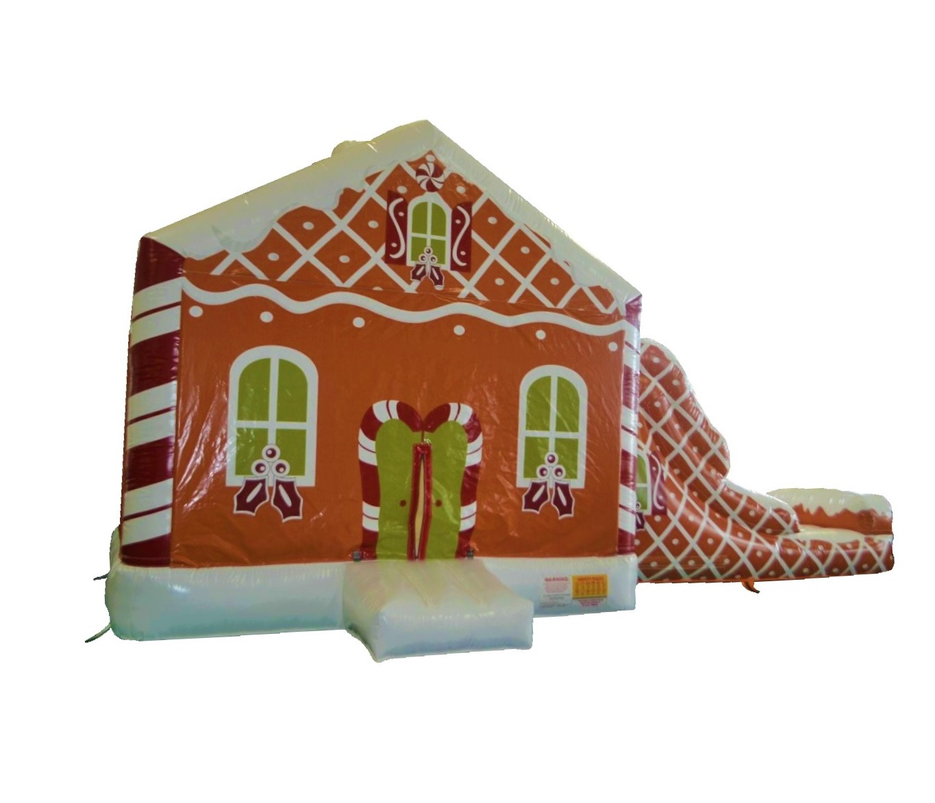 Gingerbread House Bounce & Slide