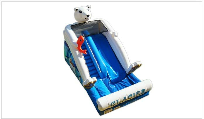 Glacier Inflatable Slide