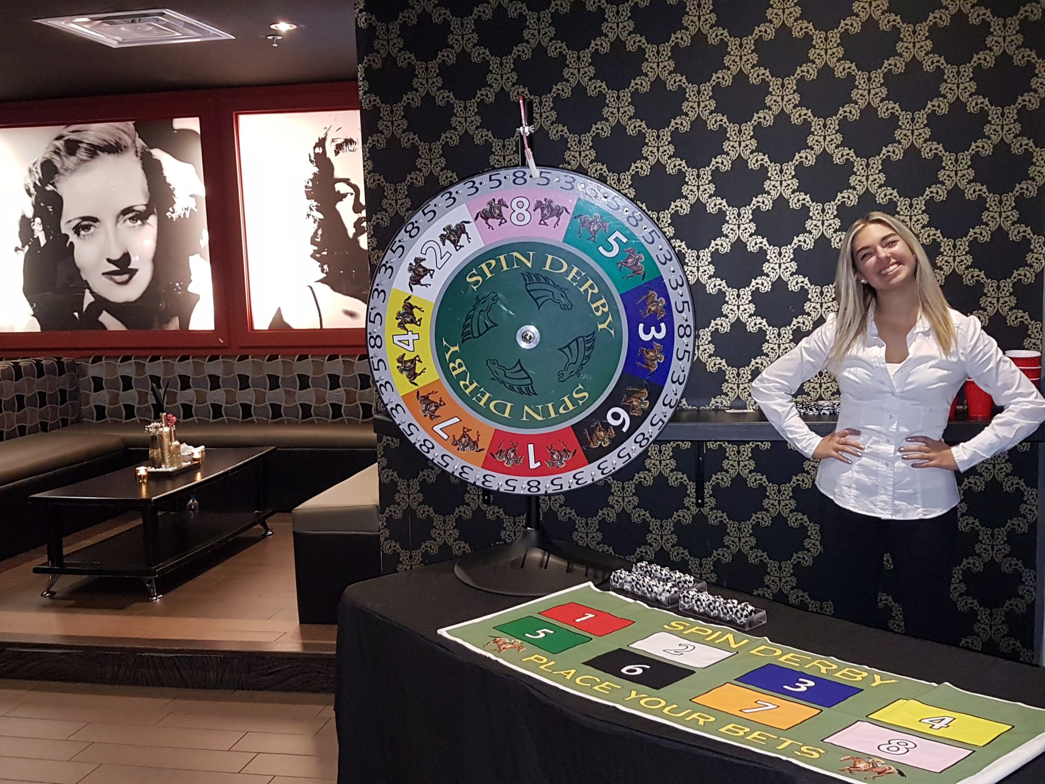 Casino Gaming Wheel: Horse Derby Spin