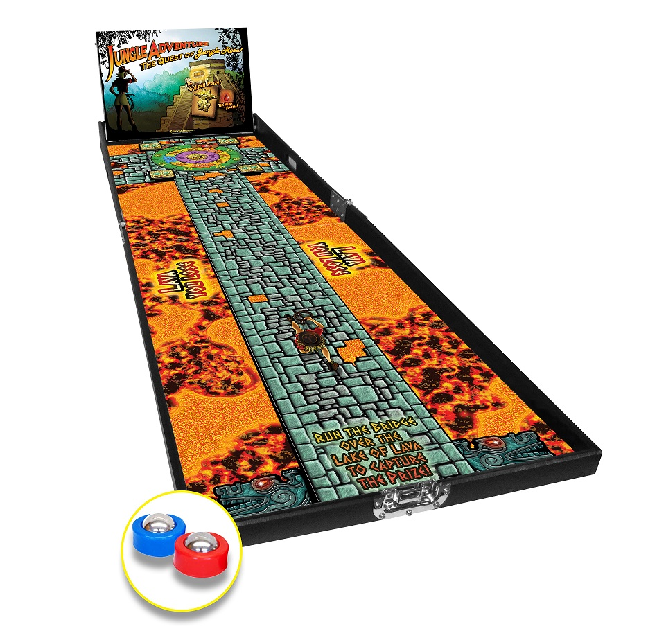 Jungle Adventure: Shuffle Board