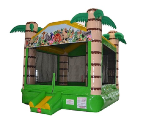 Jungle Inflatable Bouncer Castle