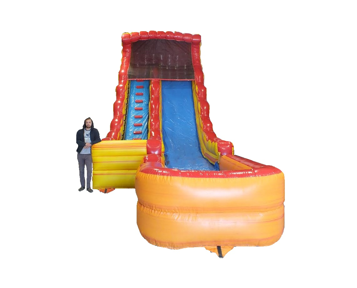The Lava Slide Inflatable