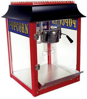 Popcorn Machine Rental Mississauga Brampton Oakville